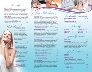 Ren Med Spa Brochure Page 2