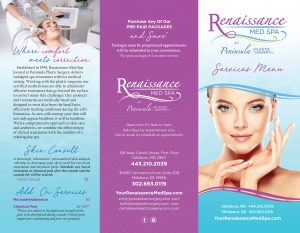 Ren Med Spa Brochure page 1